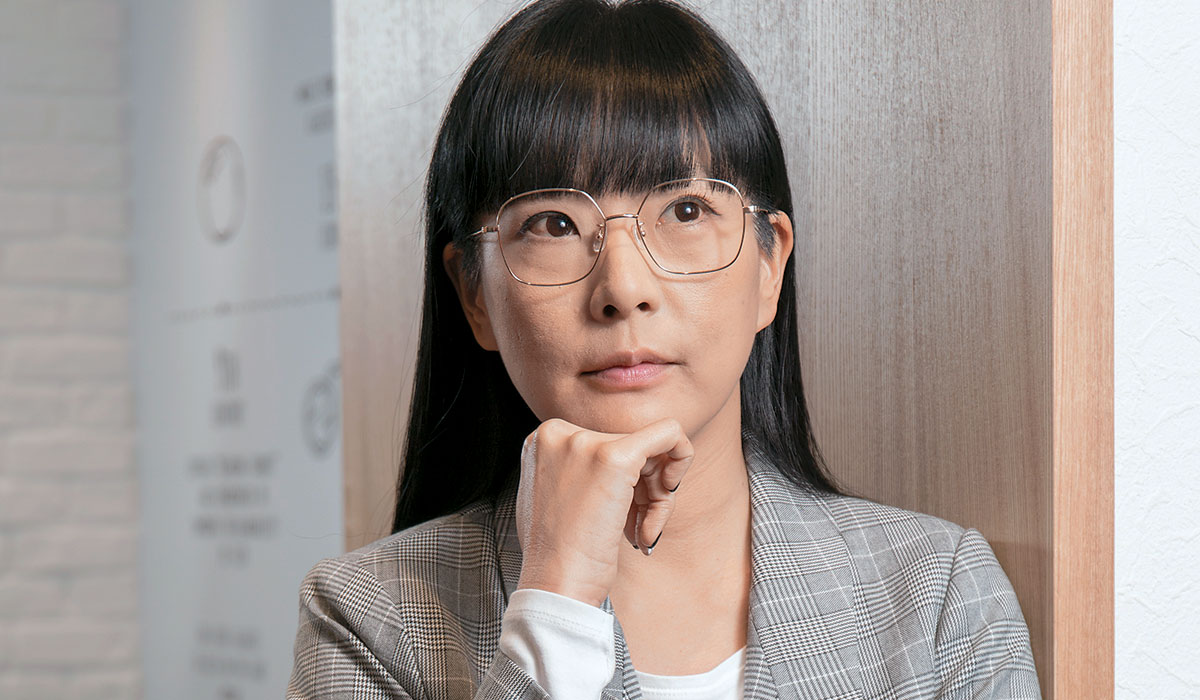JINS台灣總經理 邱明琪
